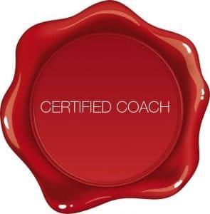 Zertifizierter Coach mit Siegel